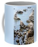 Shell Beach Rocky Coastline Coffee Mug
