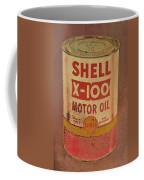 Shell Motor Oil Coffee Mug by Michelle Calkins