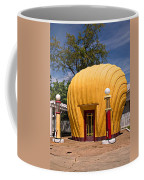 Shell-shaped Shell Station North Carolina Coffee Mug