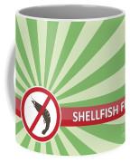 Shellfish Free Banner Coffee Mug