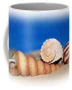 Shells In Sand Coffee Mug