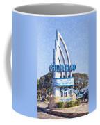 Shelter Island Sign San Diego California Usa Coffee Mug