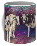 Sheltering Cows Coffee Mug