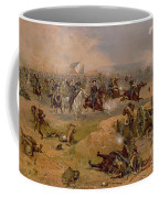 Sheridan's Final Charge At Winchester Coffee Mug by American School