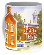 Sheriffs Residence With Courthouse Coffee Mug