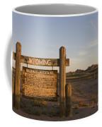 Sherman Mountains Wyoming Coffee Mug