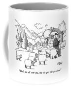 She's Not All Coffee Mug