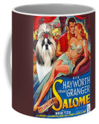 Shih Tzu Art - Salome Movie Poster Coffee Mug