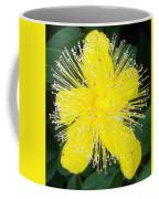Shimmer Yellow Flower Coffee Mug