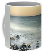 Shiny Rocks At The Sea Coffee Mug
