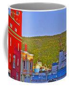 Ship At The End Of Water Street In Saint John's-nl Coffee Mug