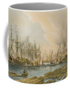 Ship Building At Limehouse Coffee Mug