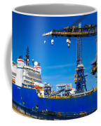 Ship In Port Coffee Mug