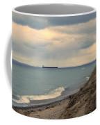 Ship On The Horizon Coffee Mug
