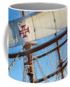 Ship Rigging Coffee Mug by Carlos Caetano