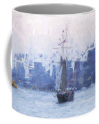 Ship Through The Haze Coffee Mug