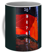 Ship Waterline Numbers Coffee Mug