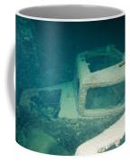 Ship Wreck With Trucks Coffee Mug