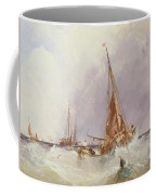 Shipping In The Solent 19th Century Coffee Mug