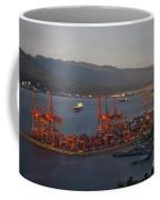 Shipping Terminals Port Of Vancouver Coffee Mug