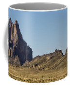 Shiprock Panorama - North West New Mexico Coffee Mug