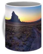Shiprock Sunset Coffee Mug