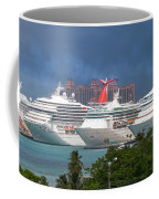 Ships And Atlantis Coffee Mug