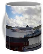 Ships In Lerwick Harbour Coffee Mug