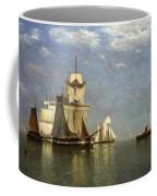 Ships Lying Off Flushing Coffee Mug