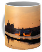 Ships Moored At The New Docking Coffee Mug