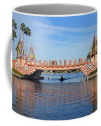 Ships On Waves Bridge Coffee Mug