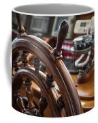 Ships Wheel Coffee Mug by Dale Kincaid