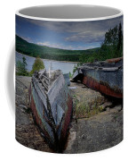 Shipwrecks At Neys Provincial Park No.3 Coffee Mug