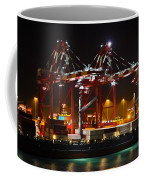 Shipyards  Callao Port Lima Peru Coffee Mug