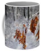 Shivering Oak Leaves Coffee Mug