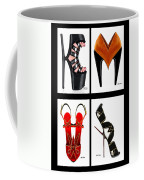 Shoe Love Quad Coffee Mug