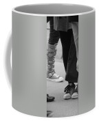 Shoes In Black And White Coffee Mug