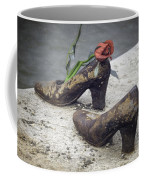 Shoes On The Danube Bank Coffee Mug