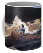 Shooting The Rapids Saguenay River Coffee Mug