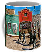 Shootout At The Ok Corral In Tombstone-arizona Coffee Mug