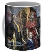 Shop Window Display Of Mannequins Coffee Mug