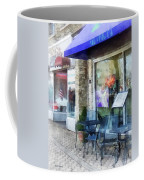 Shopfront - Music And Coffee Cafe Coffee Mug