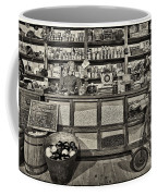 Shopping At The General Store Coffee Mug by Priscilla Burgers