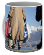 Shopping Bags And A Dog Coffee Mug