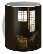 Shopping Cart Stairs At Window Coffee Mug