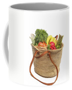 Shopping For Orrganic Fruit And Vegetables  Coffee Mug