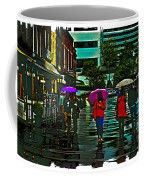 Shopping In The Rain - Knoxville Coffee Mug