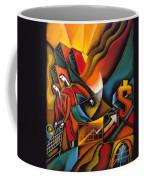 Shopping Coffee Mug by Leon Zernitsky