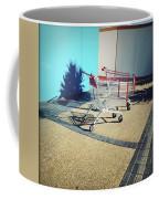 Shopping Trolleys  Coffee Mug by Les Cunliffe