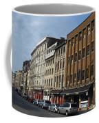 Shops And Buildings Along Rue Saint-paul Old Montreal Coffee Mug